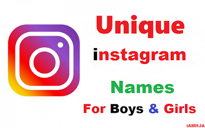 Instagram UserName