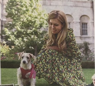 Coronavirus Symptoms Found in Carrie Symonds Now They are recovering from corona 1