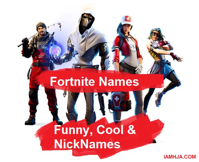 best Fortnite Names