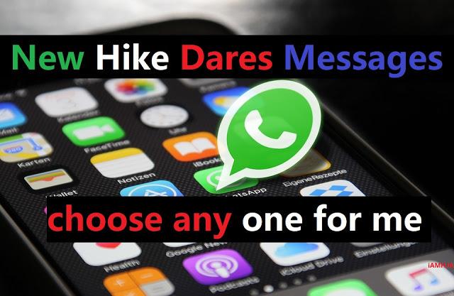 Hike Dares