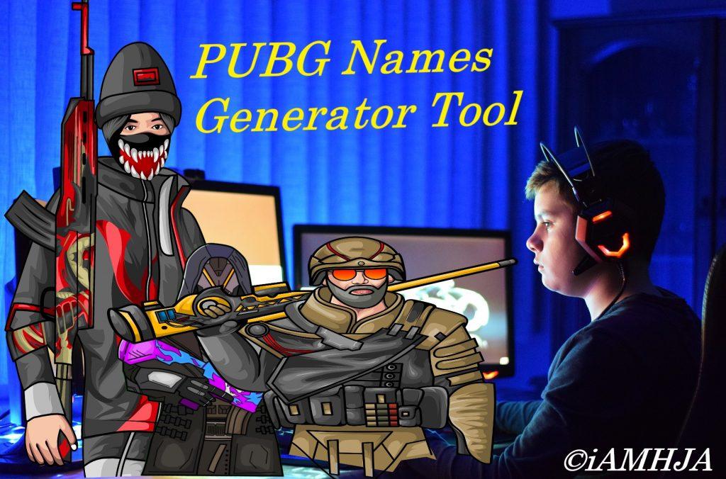 PUBG Names Generator