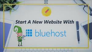 New blog make on with blue hosting