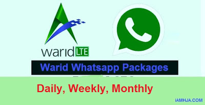 warid whatsapp package