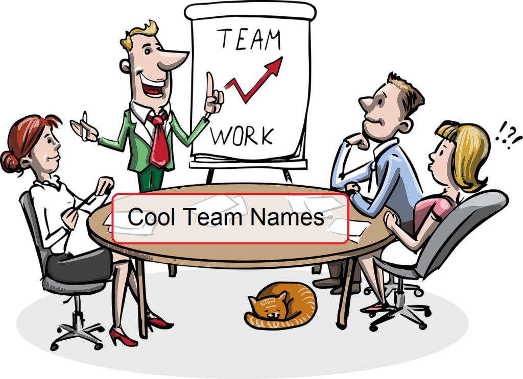 Best Team Names 2021 [Unique, Good, Cool, Funny] 1