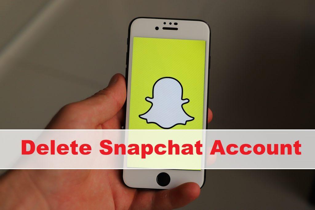Delete Snapchat Account