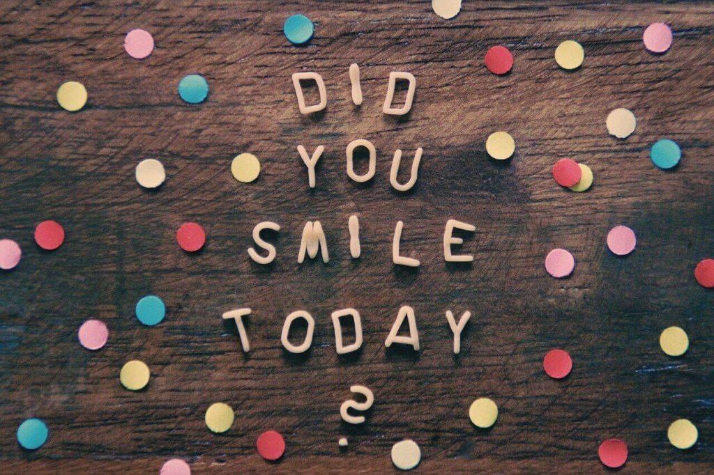 Smile Facebook Captions