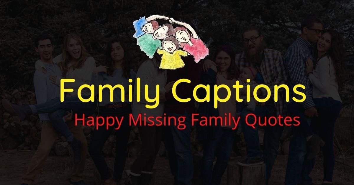 Family Captions