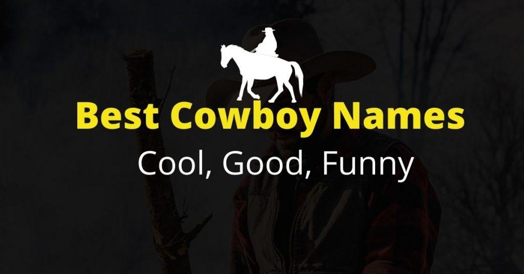 Best Cowboy Names