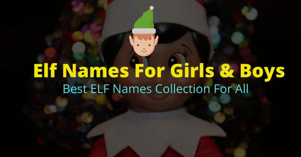 Elf Names