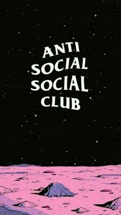 Anti-Social Social Club aesthetic wallpaper