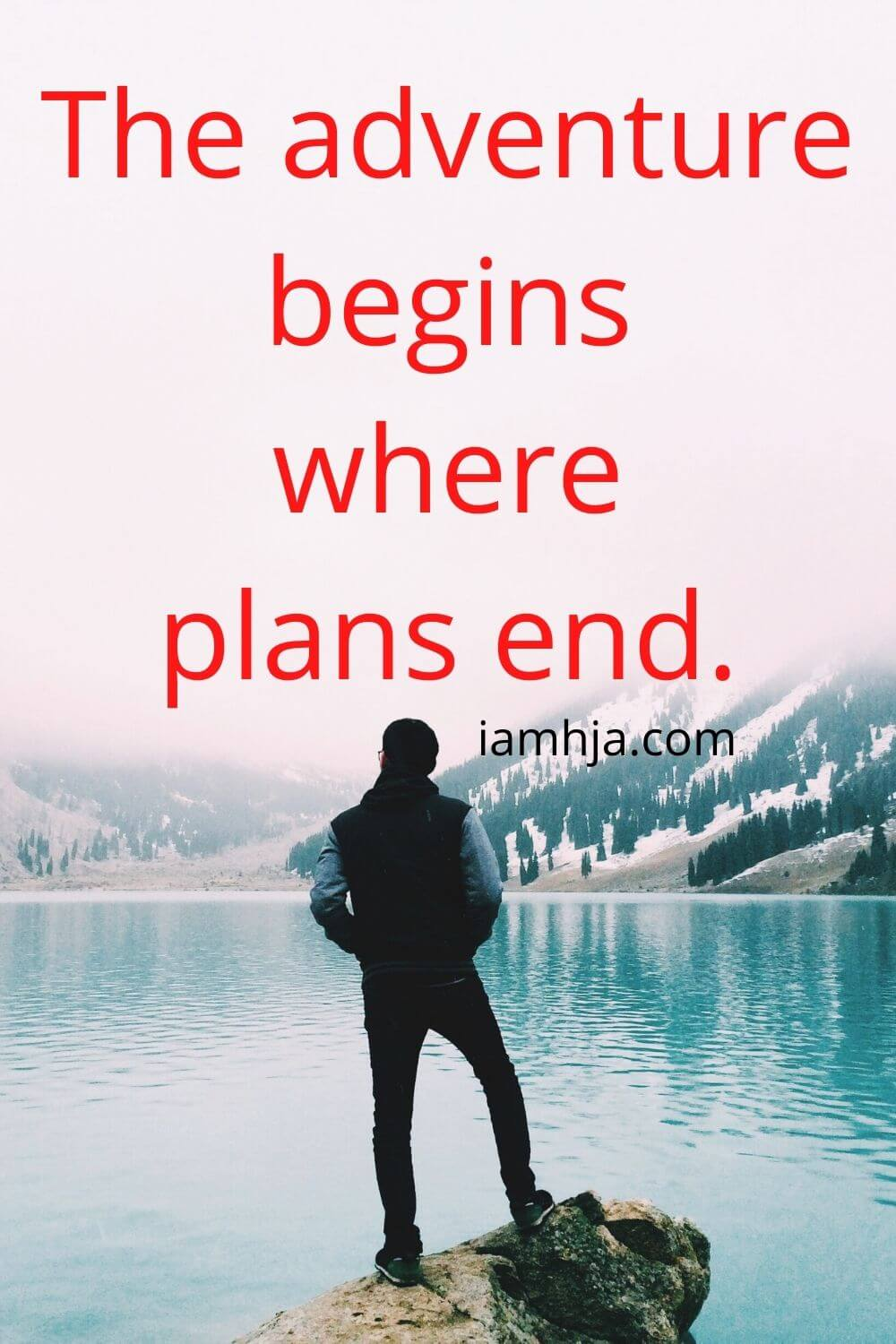 The adventure begins where plans end.