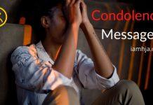 Condolences Messages