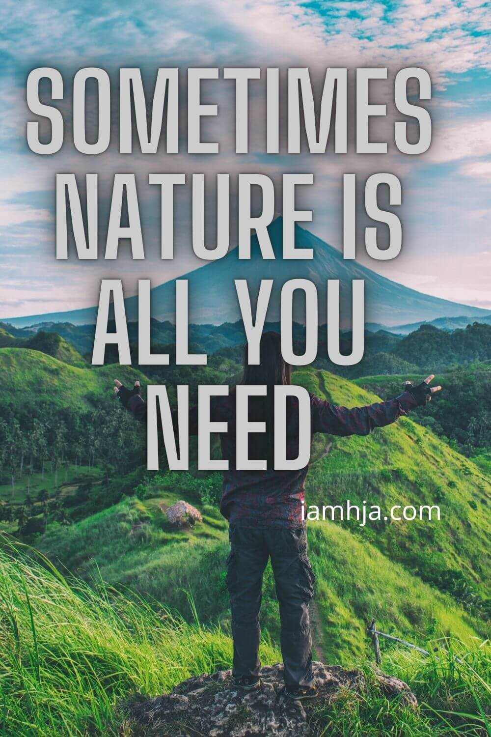 Sometimes, nature is all you need.