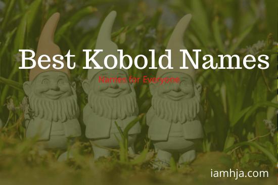 Best Kobold Names