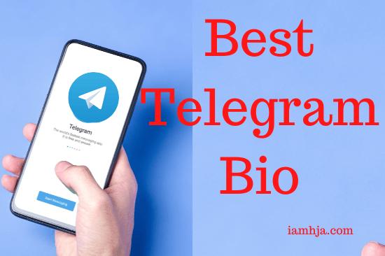 Best Telegram Bio