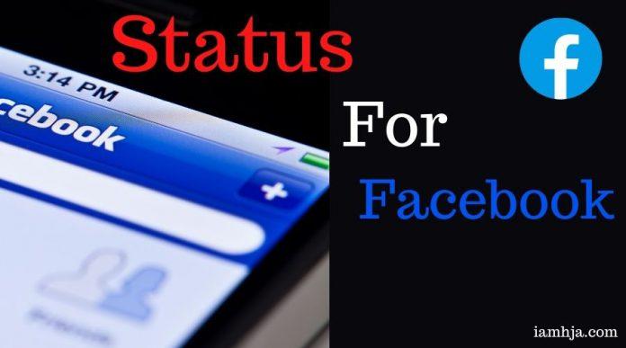status for facebook