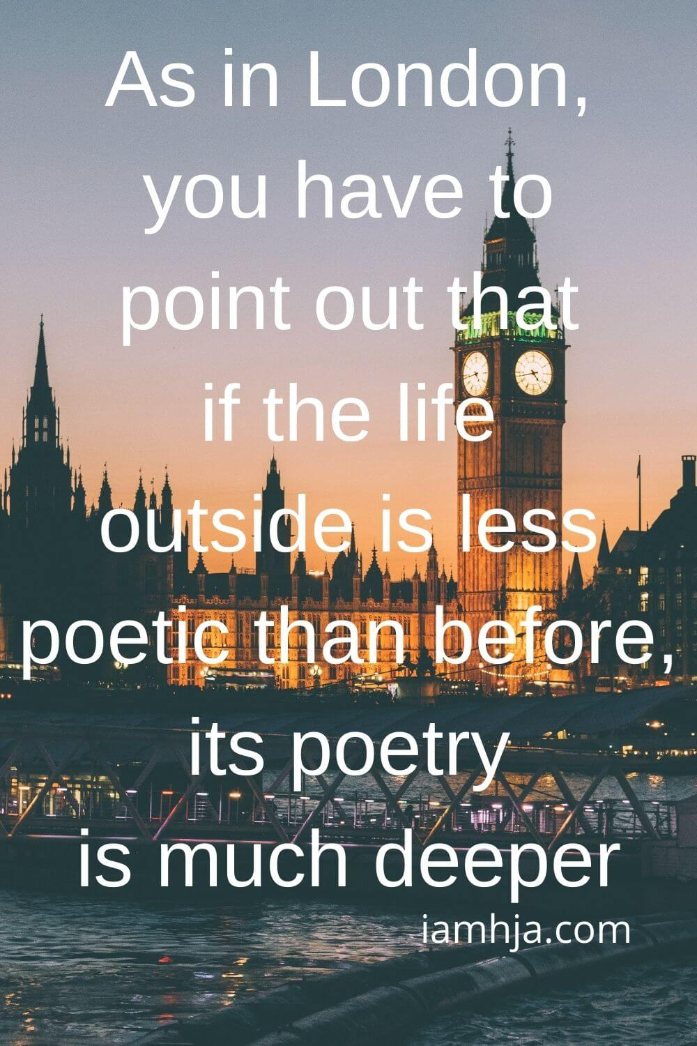 109+ Best London Quotes & Famous Sayings About London 5