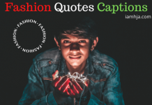 Fashion Quotes Captions