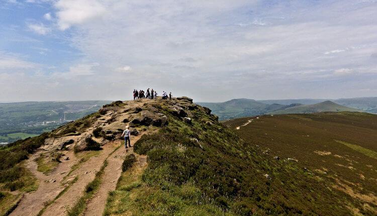 Great Ridge and Win Hill