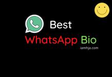 Best WhatsApp Bio