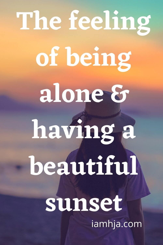 sunset sayings