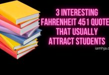 3 Interesting Fahrenheit 451 Quotes That Usually Attract Students