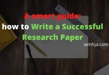 A smart guide how to Write a Successful Research Paper