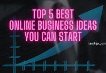 Top 5 best online business ideas you can start